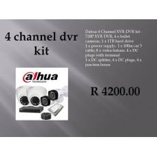 Dahua Kits 4 Channel
